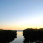 Schwedenrot, Usedom, Insel, Urlaub, Ferienwohnungen, Familienurlaub, Ferienanlage, Kölpinsee, Achterwasser, Sonnenuntergang, Abendstimmung