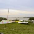 Usedom, Insel, Urlaub, Ferienwohnung, Schwedenrot, Kite Surfen, Sport, Freizeit, Ostsee, Achterwasser